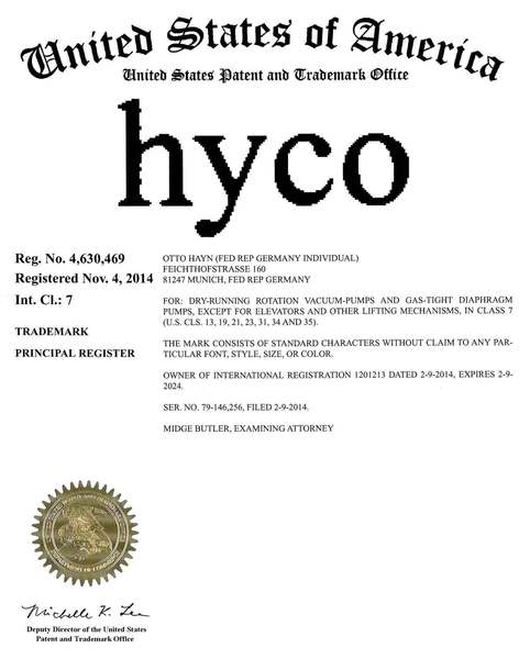 Normal hyco urkunde usa web